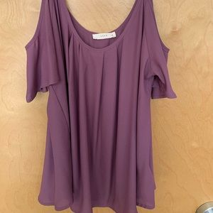 Purple Blouse - Dry Goods